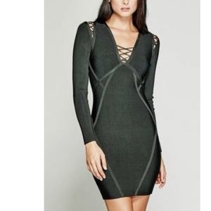 Marciano Guess green dress